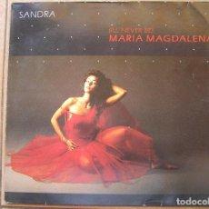 Disques de vinyle: SANDRA – (I'LL NEVER BE) MARIA MAGDALENA VIRGIN 1985 - MAXI - P -. Lote 94336998