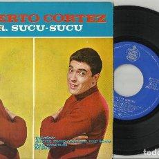 Discos de vinilo: ALBERTO CORTEZ EP TELSTAR + 3 1963 . Lote 94348502