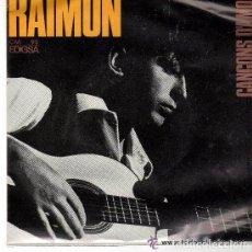 Discos de vinilo: RAIMON - CANÇONS D'AMOR - EP EDIGSA 1965 - 5ºDISCO - CANÇÓ CATALANA CON LAS LETRAS. Lote 94359954