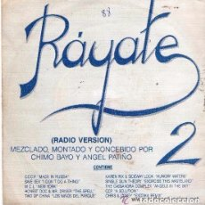 Discos de vinilo: RAYATE 2 - SINGLE MIXED SPAIN 1988 - NEW BEAT. Lote 94374786