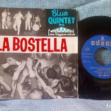 Discos de vinilo: BLUE QUINTET - LA BOSTELLA - EMI ODEON DSOE 16.651 - AÑO 1965. Lote 94376790