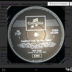 Discos de vinilo: THE PINK FLOYD- SOUNDTRACK FROM THE FILM MORE. Lote 94399826
