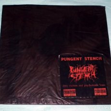 Discos de vinilo: LP PUNGENT STENCH - DIRTY RHYMES AND PSYCHOTRONIC BEATS. Lote 94405786