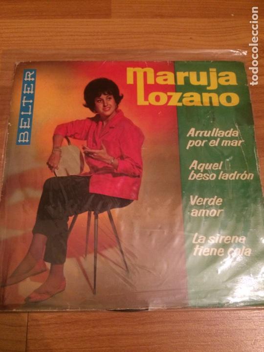 MARUJA LOZANO (Música - Discos de Vinilo - EPs - Flamenco, Canción española y Cuplé)