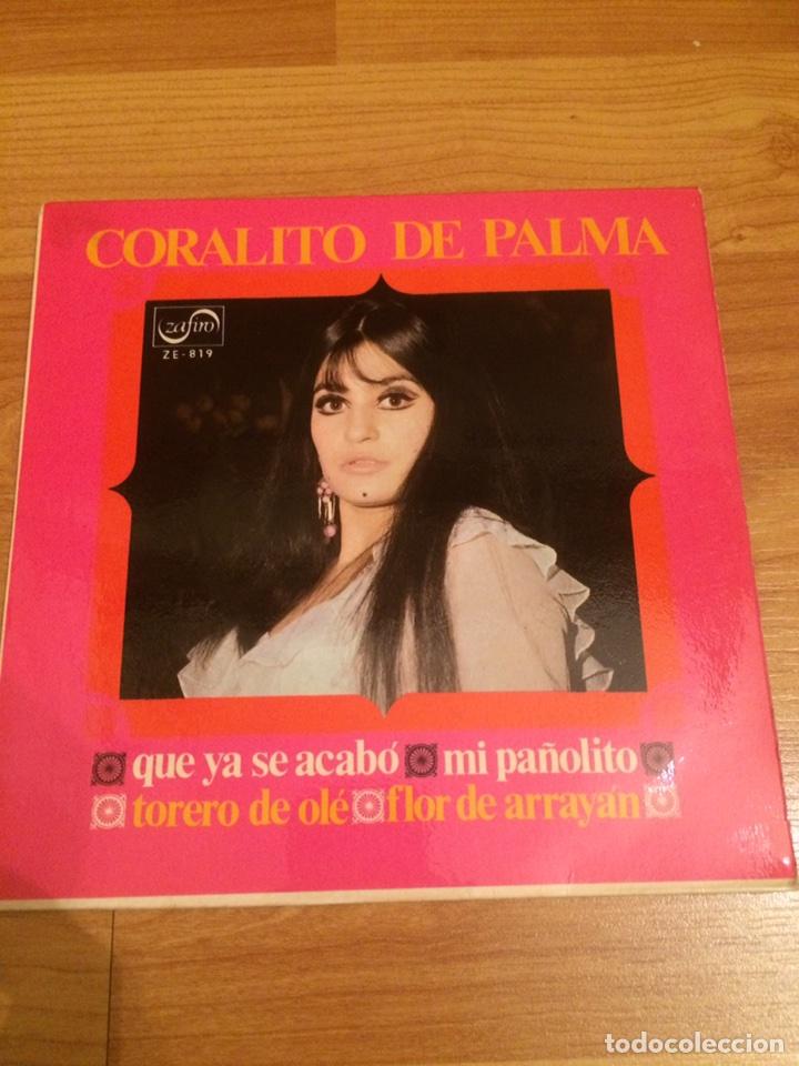 CORALITO DE PALMA (Música - Discos de Vinilo - EPs - Flamenco, Canción española y Cuplé)