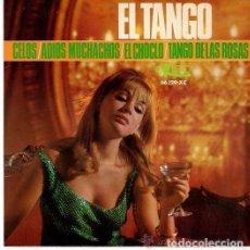 Discos de vinilo: GRAN ORQUESTA TÍPICA - EL TANGO CELOS - ADIOS MUCHACHOS - EL CHOCLO + 1 - EP EKIPO 1966 . Lote 94425886