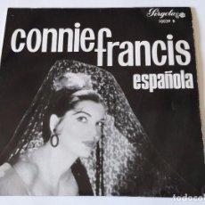 Discos de vinilo: CONNIE FRANCIS - ESPAÑOLA - 1963 - EP. Lote 94427798