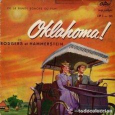 Discos de vinilo: OKLAHOMA, SINGLE DE LA BANDA SONORA DE LA PELICULA - SELLO CAPITOL, USA. Lote 94431054