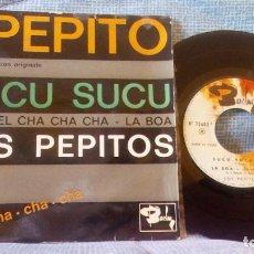 Discos de vinilo: EP - LOS PEPITOS - PEPITO / SUCU SUCU / Y VIVA EL CHA CHA CHA / LA BOA - EP ESPAÑOL. Lote 94436930