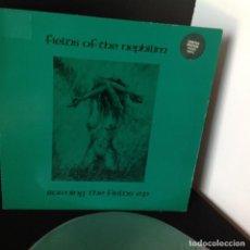 Discos de vinilo: FIELDS OF THE NEPHILIM - BURNING THE FIELDS - LP EDICION LIMITADA COLOR VERDE. Lote 94445486