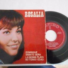 Discos de vinilo: ROSALIA-EP DOMINIQUE +3. Lote 94464002