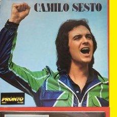 Discos de vinilo: CAMILO SESTO 1973, ALGO MAS - RARA 1ª EDIC ORG USA PROMOCIONAL, TODO IMPECABLE !!. Lote 94466522