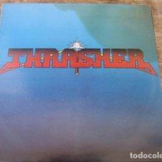 Discos de vinilo: THRASHER - BURNING AT THE SPEED OF LIGHT ***** RARO LP FRANCÉS 1985. Lote 94472090