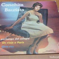Discos de vinilo: CONCHITA BAUTISTA - LA PACHANGA DEL COLEGIO - 1962. SPANISH YE-YE. Lote 94481778