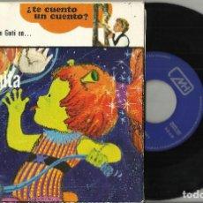 Discos de vinilo: Mª CARMEN GOÑI SINGLE ¿TE CUENTO UN CUENTO? LA MARCIANITA JUNTA GLOBOS - DISCO CUENTO 1972 . Lote 94494978