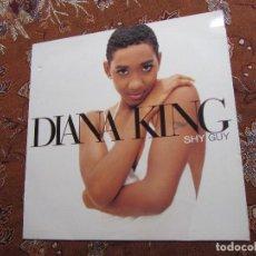 Discos de vinilo: DIANA KING- MAXI-SINGLE DE VINILO DE TITULO SHY GUY- CON 4 TEMAS- ORIGINAL DEL 95- EL MAXI ES NUEVO. Lote 94508050