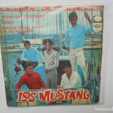 Discos de vinilo: LOS MUSTANG ''LA CATEDRAL DE WINCHESTER'' AÑO 1967 VINILO DE 7'' ES ES UN EPS DE 4 CANCIONES. Lote 94518222