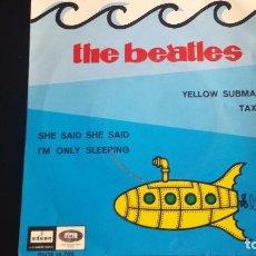 Discos de vinilo: EP THE BEATLES: YELLOW SUBMARINE. ODEON SPAIN 1966. Lote 94520042