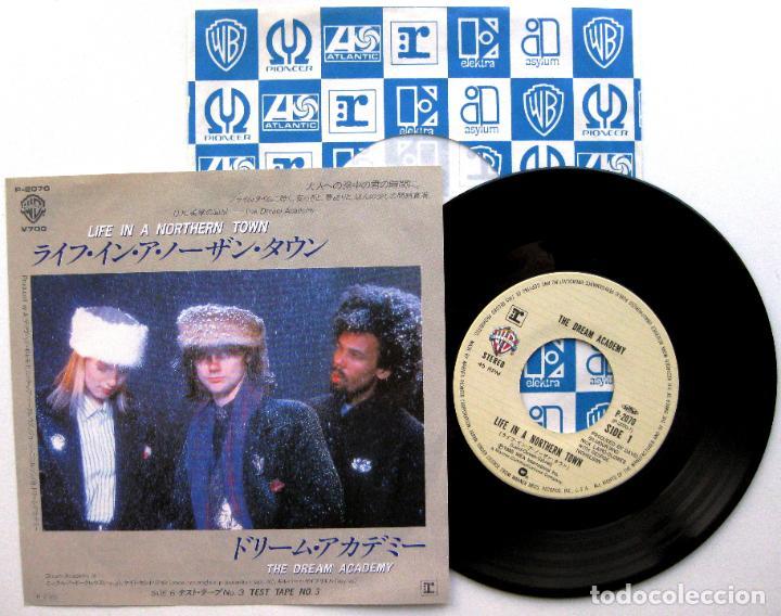 THE DREAM ACADEMY - LIFE IN A NORTHERN TOWN - SINGLE WARNER BROS 1986 JAPAN (EDICIÓN JAPONESA) BPY (Música - Discos de Vinilo - Singles - Pop - Rock Internacional de los 80)