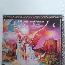 Discos de vinilo: CARLOS SANTANA ALICE COLTRANE ILLUMINATIONS ( 1974 CBS UK ) BUEN ESTADO GENERAL. Lote 94530710