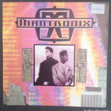 Discos de vinilo: MANTRONIX: TAKE YOUR TIME / DON´T YOU WANT MORE?. Lote 94581303