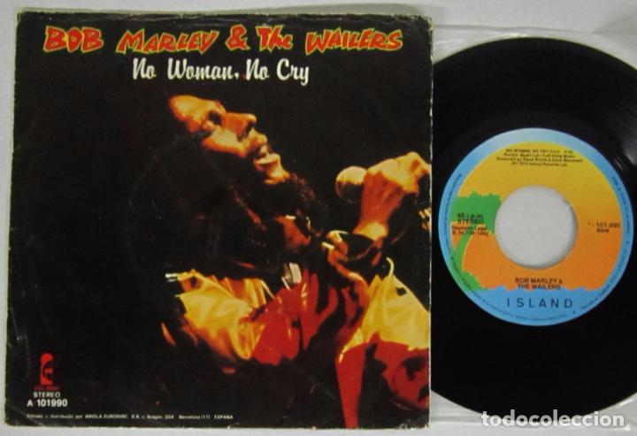 Bob Marley The Wailers Bad Card No Woman Sold Through Direct