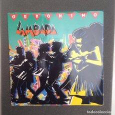 Discos de vinilo: GERONIMO:LAMBADA/ FRANCE. Lote 94588443