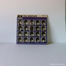 Discos de vinilo: BEATLES - A HARD DAY'S NIGHT LP AÑO 1964 MADE IN UK SELLO PARLOPHONE LABEL NEGRO. Lote 94596983
