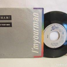 Discos de vinilo: WHAM! - I'M YOUR MAN / DO IT RIGHT - 1985 - SINGLE - SPAIN - VG/VG. Lote 94599847