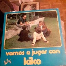 Discos de vinilo: LP VAMOS A JUGAR CON KIKO. Lote 94604887