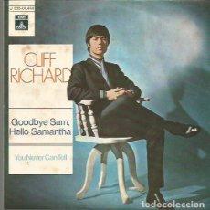 Discos de vinilo: CLIFF RICHARD SINGLE SELLO EMI-ODEON AÑO 1970 EDITADO EN ESPAÑA. Lote 94606839