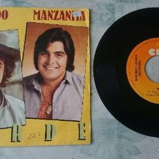 Discos de vinilo: RAIMUNDO FAGNER Y MANZANITA: VERDE / TRADUCIRSE (CBS 1981). Lote 94615507