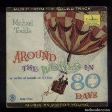 Discos de vinilo: AROUND THE WORLD IN 80 DAYS BSO. Lote 94627539