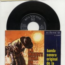 Discos de vinilo: LA MUERTE TENÍA UN PRECIO BSO ENNIO MORRICONE 1966. Lote 94632131