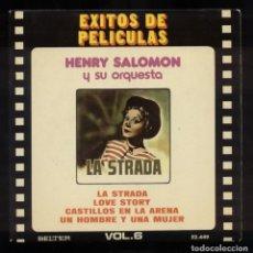 Discos de vinilo: LA STRADA BSO . Lote 94632219