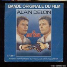 Discos de vinilo: LE BATTANT ALAIN DELON BSO. Lote 94632255