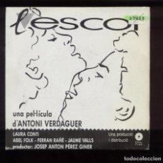 Discos de vinilo: LESCOT BSO MUSICA RAMÓN MUNTANER. Lote 94632383