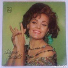 Discos de vinilo: CARMEN SEVILLA– TANGUILLO / TYPICAL SPANISH / CABECITA LOCA / LA LUNA Y EL TORO- EP 1965. Lote 94648887
