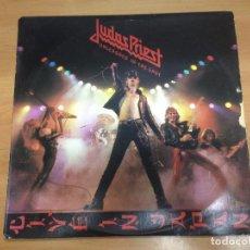 Discos de vinilo: LP JUDAS PRIEST / UNLEASHED IN THE EAST EDITADO EN ESPAÑA CBS 1979. Lote 94649243