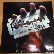 Discos de vinilo: LP JUDAS PRIEST / BRITISH STEEL EDITADO EN CBS ESPAÑA 1980. Lote 94649663