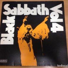 Discos de vinilo: LP BLACK SABBATH VOL4 EDITADO POR NEMS 1976 DOBLE PORTADA . Lote 94652751