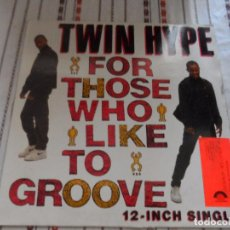 Discos de vinilo: TWIN HYPE FOR THOSE WHO LIKE TO GROOVE. Lote 94656567