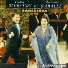 Discos de vinilo: FREDDIE MERCURY Y MONTSERRAT CABALLÉ - BARCELONA - MAXI-SINGLE 1987. Lote 94674083
