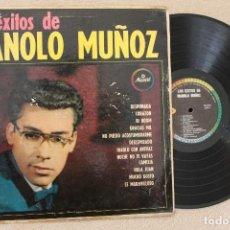 Discos de vinilo: MANOLO MUÑOZ LOS EXITOS DE MANOLO MUÑOZ LP VINILO MADE IN HIALEAH U.S.A. 1963. Lote 94679119