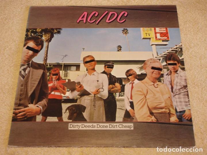 AC/DC – DIRTY DEEDS DONE DIRT CHEAP, UK 1976 ATLANTIC (Música - Discos - LP Vinilo - Pop - Rock - Internacional de los 70)