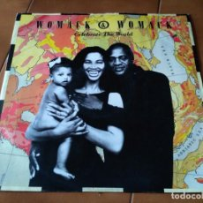 Discos de vinilo: WOMACK & WOMACK ?– CELEBRATE THE WORLD . Lote 94684147