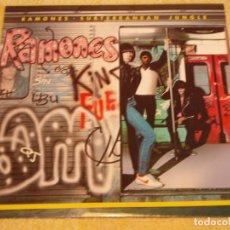 Discos de vinilo: RAMONES ( SUBTERRANEAN JUNGLE ) 1983-GERMANY LP33 SIRE. Lote 94710223
