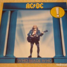 Discos de vinilo: AC DC ( WHO MADE WHO ) 1986 - GERMANY LP33 ATLANTIC. Lote 94717099