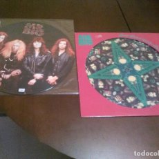 Discos de vinilo: MR. BIG - 2 PICTURE DISC - GREEN TINTED SIXTIES MIND - LEAN INTO IT - PAUL GILBERT - BILLY SHEEHAN -. Lote 94722147