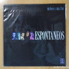 Discos de vinilo: ESPONTANEOS - UN BESO Y UNA FLOR - MAXI. Lote 142988105